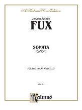 Sonata (Canon) for Two Violas and Basso Continuo