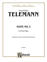 Suite No. 2 in B-flat Major