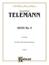 Suite No. 3 in B Minor