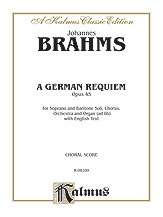 A German Requiem, Opus 45