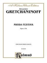 Missa Festiva (Opus 154)