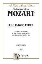 The Magic Flute (Die Zauberflote), An Opera in Two Acts