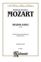 Wolfgang Amadeus Mozart : Regina Coeli, K. 276 : SATB divisi : 01 Songbook : 029156302103  : 00-K06342