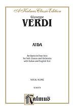 Aida (Vocal Score) (Voice), Masterwork, #YL00-K064
