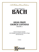Arias from Church Cantatas, Volume I