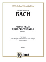 Arias from Church Cantatas, Volume I (12 Arias)