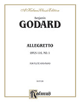 Allegretto for Flute and Piano, Opus 116