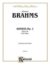 Sonata No. 1 in E Minor, Opus 38