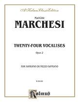 Twenty-four Vocalises for Soprano or Mezzo-Soprano, Opus 2