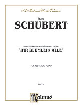 Introduction and Variations on a Theme 'Ihr Blumlein Alle,' Opus 160