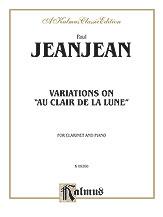 Variations on 'Au Clair de la Lune'