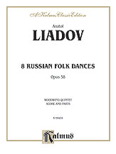 Eight Russian Folk Dances, Opus 58