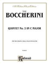 Boccherini: Second Quintet in C Major, for Two Violins, Viola, Cello and Guitar