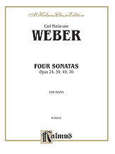 Four Piano Sonatas, Opus 24, 39, 49, 70