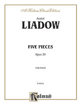 Five Pieces, Opus 39