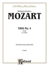 Trio No. 4 in C Major, K. 548