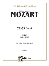 Trio No. 8 in D Minor, K. 442