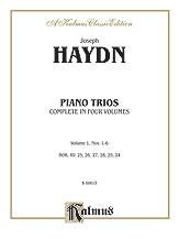 Trios for Violin, Cello and Piano, Volume I (Nos. 1-6, HOB. XV: 25, 26, 27, 28, 29, 24)