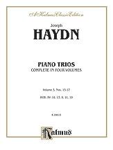 Trios for Violin, Cello and Piano, Volume III (Nos. 13-17, HOB. XV: 18, 13, 9, 11, 19)