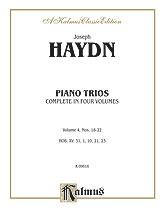 Trios for Violin, Cello and Piano, Volume IV (Nos. 18-22, HOB. XV: 31, 1, 10, 21, 23)