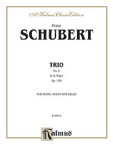 Trio No. 2 in E-flat Major, Opus 100