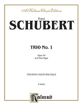 Trio No. 1 in B-flat Major, Opus 99