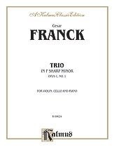 Trio in F-sharp Minor (Opus 1, No. 1)
