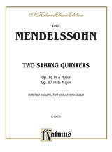Two String Quintets, Opus 18 (A Major) & Opus 87 (B-flat Major)