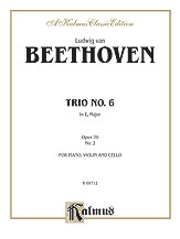 Piano Trio No. 6 - Opus 70, No. 2 in E-flat Major