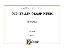 Old Italian Organ Music