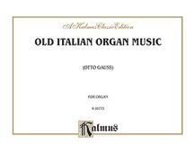 Old Italian Organ Music
