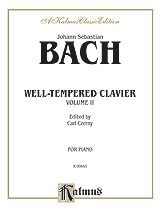 Bach: The Well-Tempered Clavier (Volume II) (Ed. Carl Czerny)