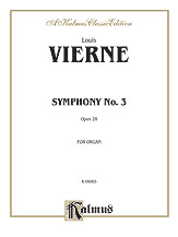 Vierne: Symphony No. 3, Op. 28