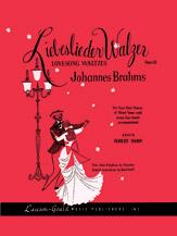 Johannes Brahms : Liebeslieder Walzer, Opus 52 : SATB : Songbook : 783556001652  : 00-LG00834