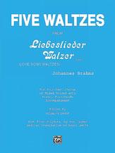 Picture of 5 Waltzes From Lieslieder Walzer