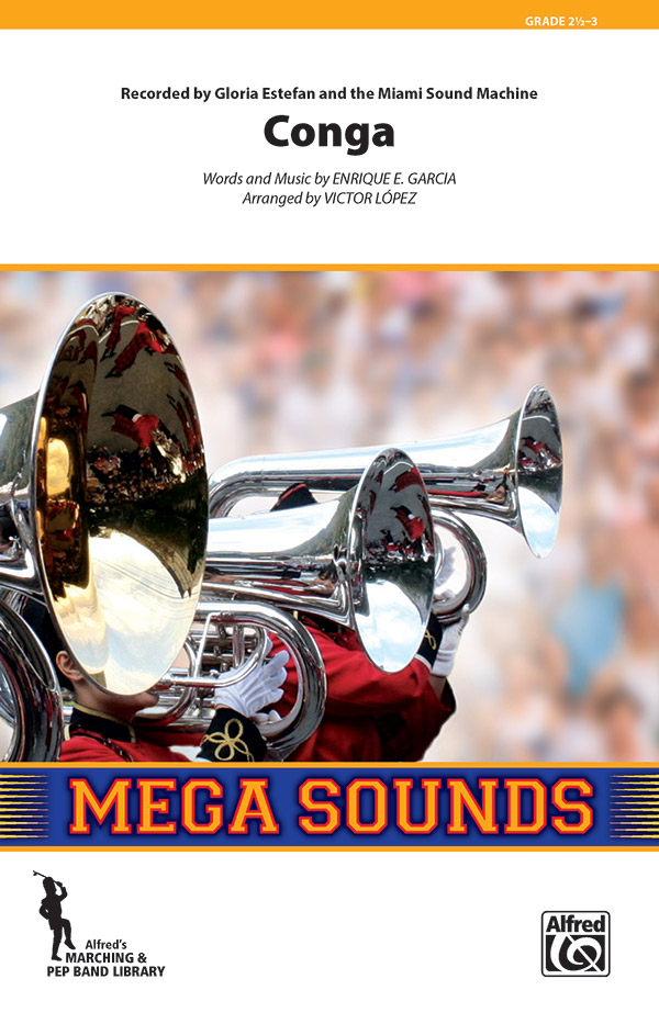 Conga (Conductor Score & Parts) (Marching Band), #