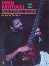 JOHN PATITUCCI ELECTRIC BASS  Bk & CD