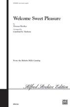 Welcome, Sweet Pleasure
