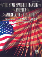 The Star-Spangled Banner / America / America, the Beautiful