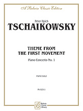 First Movement, <I>Piano Concerto No. 1,</I> Theme from the