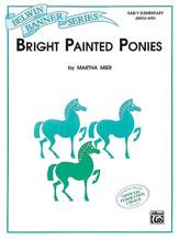 Bright Painted Ponies