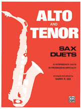 Alto and Tenor Sax Duets