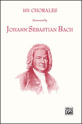 Walter E. Buszin : 101 Chorales Harmonized by Johann Sebastian Bach : SATB : Songbook : Johann Sebastian Bach : 029156148923  : 00-SCHBK09065