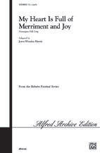 My Heart Is Full of Merriment and Joy by Traditional Norwegian Folksong | digital sheet music | Gustaf