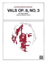 Vals, Opus 8, No. 3