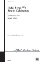 Joyful Songs We Sing in Celebration