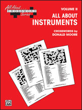 All About . . . Crossword Series, Volume II -- All About Instruments