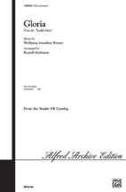 Gloria : SATB : Russell Robinson : Wolfgang Amadeus Mozart : Sheet Music : 00-SVM00002 : 654979007258