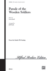 Parade of the Wooden Soldiers : SATB : Jeff Funk : Sheet Music : 00-SVM04020 : 654979070702