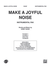 Make a Joyful Noise by Kirby Shaw | digital sheet music | Gustaf